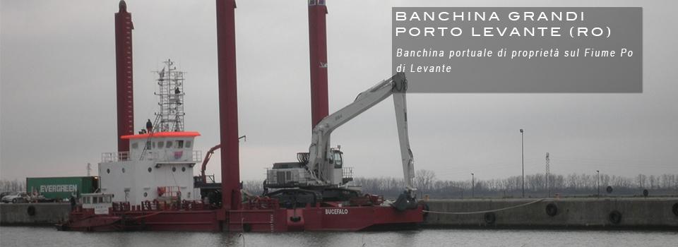Banchina Portuale Porto Levante Rovigo